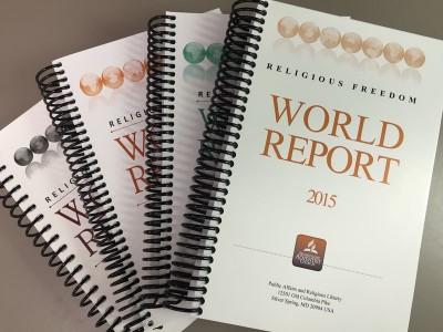 Un rapport Adventiste sur la liberté religieuse