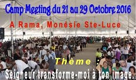 Camp meeting Martinique (1)
