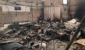 L'Ecole Adventiste de Redwood détruite par les feux de forêt en Californie