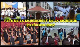 Ministères Personnels et Musique : La Fête de la moisson et de la musique est reportée en avril 2018