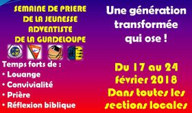 Jeunesse : Manuel de la semaine de prière JA 2018 (Français et Anglais)