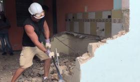 Les bénévoles de Maranatha rénovent une église à Cuba