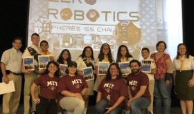 A Porto Rico, les Éclaireurs remportent le concours national du programme d'été de robotique