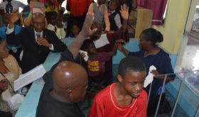 En Jamaïque, l'Église célèbre les baptêmes dans le cadre de l'initiative « Année de l'Enfant et de l'Adolescent »